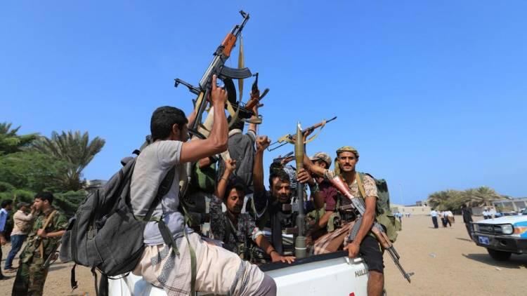هجوم واسع لقوات الشرعية على مواقع المليشيات في حجة