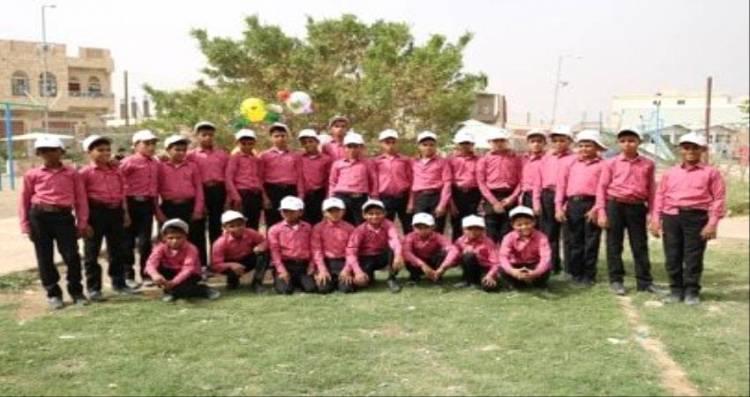 بتمويل #مركز_الملك_سلمـان..رحلة ترفيهية لأطفال مجندين ب#مـأرب لتخليصهم من آثار التجنيد