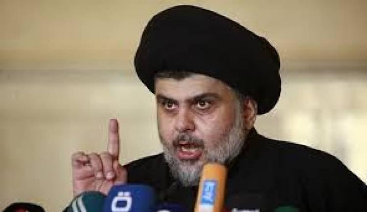 وزير الخارجية البحريني قائلا لمقتدى الصدر ( من قرع الباب سمع الجواب )