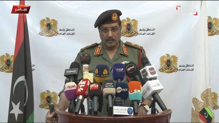 المسماري: طائرات تركية مسيرة تقصف الجيش الليبي