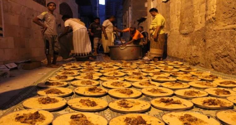 مساع حثيثة لإفطار الصائمين في مديريات #حضـرموت