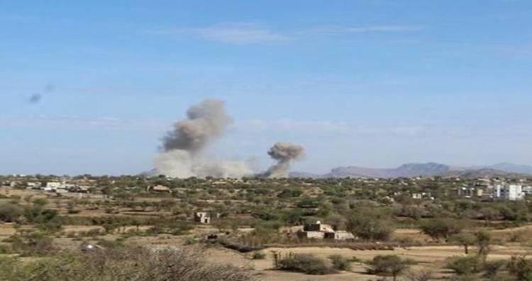 قوات الجيش تشن هجمات صاروخية على تجمعات المليشيا في البيضاء