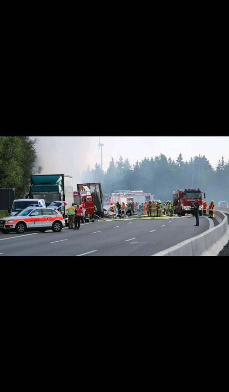 قتيل وعشرات الجرحى في حادثة حافلة بالمانيا
