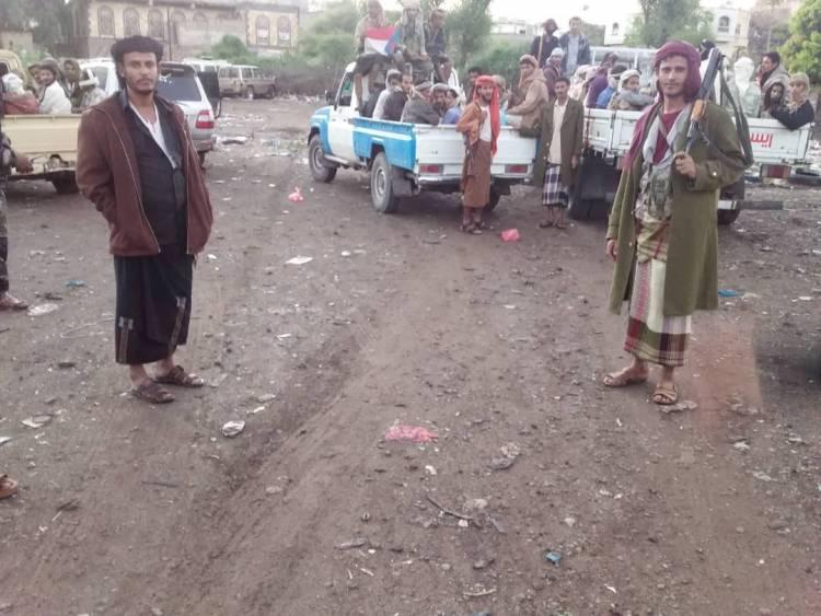 سرية من المقاومة الجنوبية بالمسيمير تصل الضالع لرفد جبهاتها لمواجهة عدوان مليشيا الحوثي