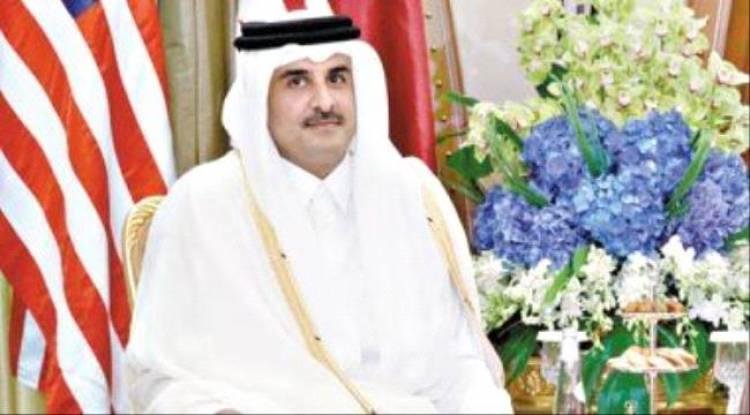 """""""مباشر قطر"""" تفضح """"الحمدين"""": يشترون الأسلحة من واشنطن ويرسلوها للإرهابيين"""