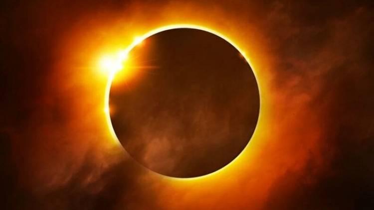 الارض في انتظار كسوف للشمس في غضون الاسبوع القادم
