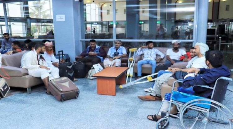 على نفقة دولة #الامـارات اجلاء جرحى الحوادث الإرهابية في عدن للعلاج في الخارج