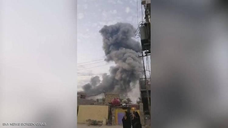 """العراق.. انفجار بمخزن أسلحة تابع لمليشيات """"الحشد الشعبي"""""""
