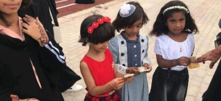 مبادرات تطوعية تدشن توزيع هدايا العيد ل300  من الأطفال في المكلا