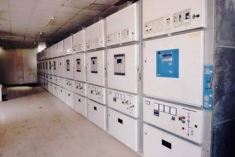 إعادة التيار الكهربائي ببعض مديريات عدن
