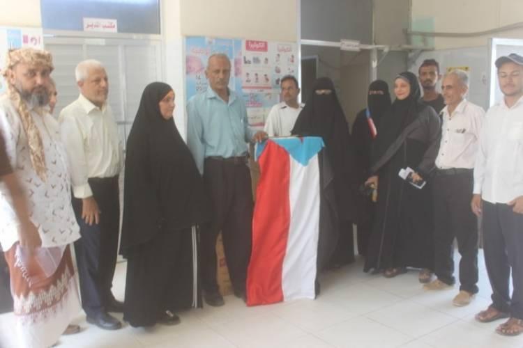 بدعم من الانتقالي..المجمع الصحي بالشيخ عثمان يتسلم مجموعة من المستلزمات الطبية (صور)