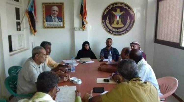 الهيئة التنفيذية لانتقالي المنصورة تعقد اجتماعها الدوري