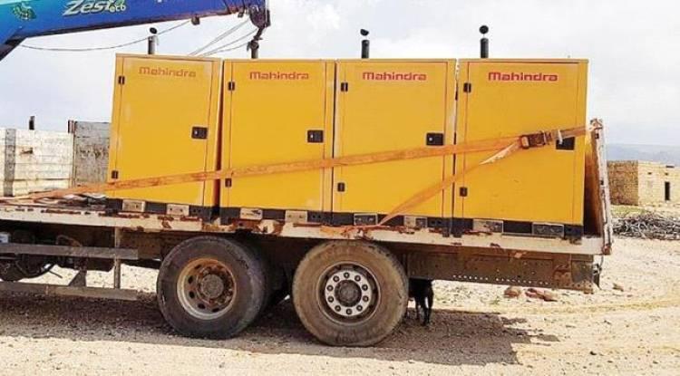 دولة الإمارات تقدم مساعدات لقطاع الكهرباء في جزيرة سقطرى