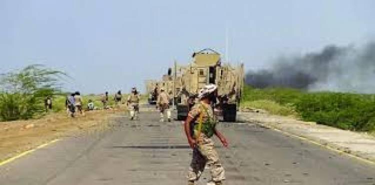 مليشيات  الحوثي تشن هجوم على مدينة التحيتا والقوات المشتركة تتصدى لها وتكبدها خسائر فادحة