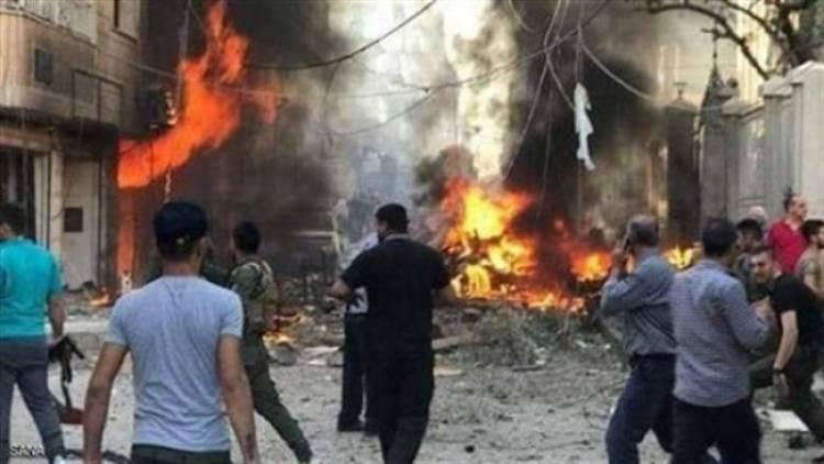 انفجار سيارة مفخخة وسط سوق بريف الحسكة بسوريا