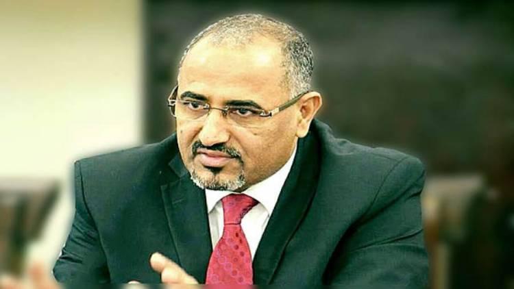 عاجل..الرئيس الزُبيدي يصل إلى العاصمة عدن