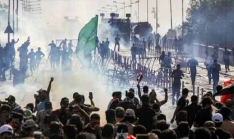 ارتفاع حصيلة ضحايا الهجوم على المعتصمين في بغداد إلى 23 قتيلًا