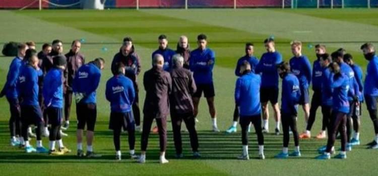 برشلونة يعود الى التدريبات من جديد