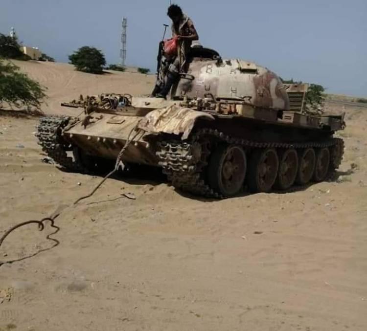 بعد معارك ضارية القوات الجنوبية تغنم سلاح ومعدات عسكرية وتتقدم باتجاه شقرة