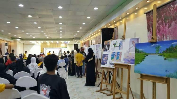 بمشاركة محلية وعربية..جمعية الخدمات الإجتماعية تقيم معرض رسومات الاطفال بعدن