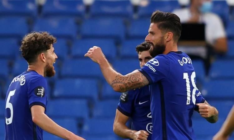 بوليسيتش وجيرو يقودان تشيلسي أمام أرسنال في نهائي كأس إنجلترا