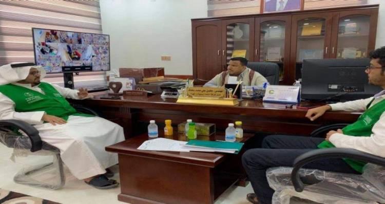 البرنامج اللسعودي لأعمار اليمن يزورشركة النفط في المهرة (تفاصيل)