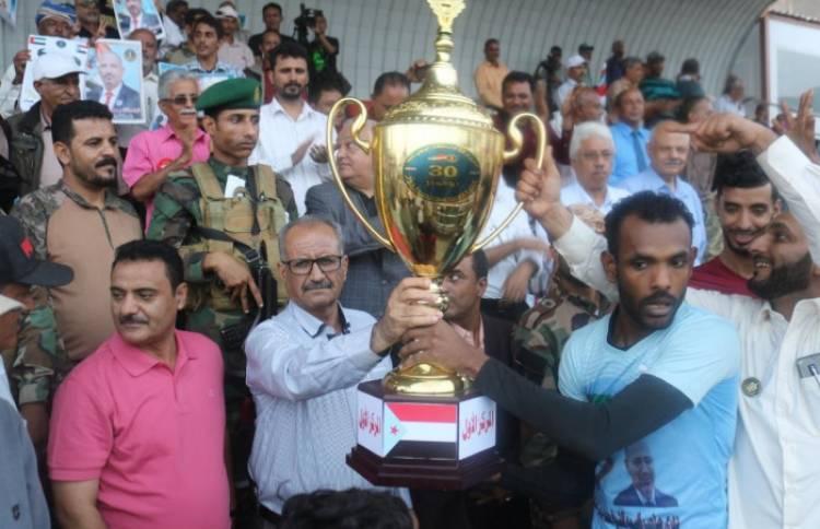 فوز المنصورة بكأس بن زايد لأندية العاصمة عدن