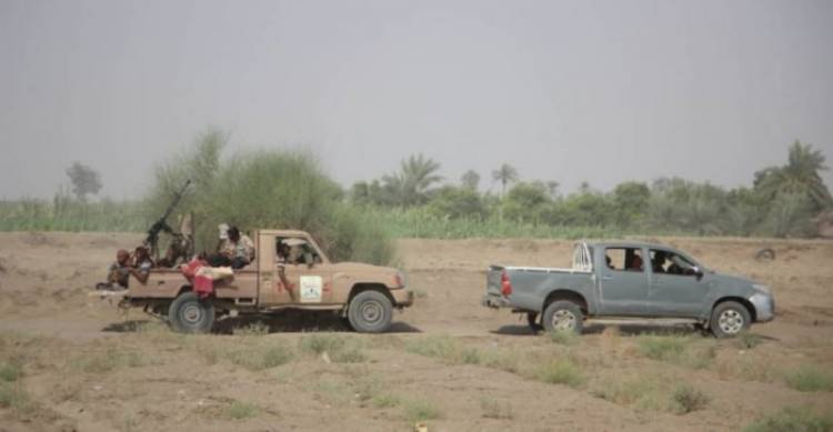 القوات المشتركة تخمد نيران مليشيا الحوثي في الدريهمي