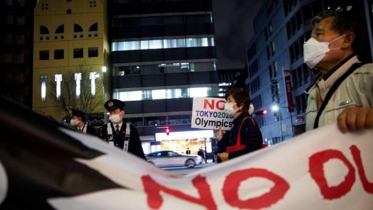 إلغاء مسيرة الشعلة على الطرقات العامة في أوساكا