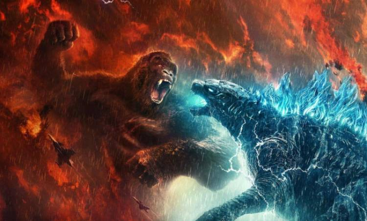 إيرادات Godzilla vs. Kong تصل لـ 406 مليون دولار