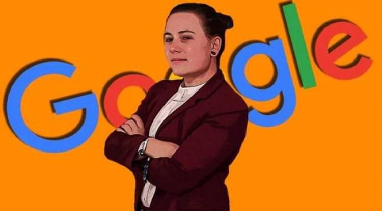 المرأة التي تحدت جوجل وفازت عليه