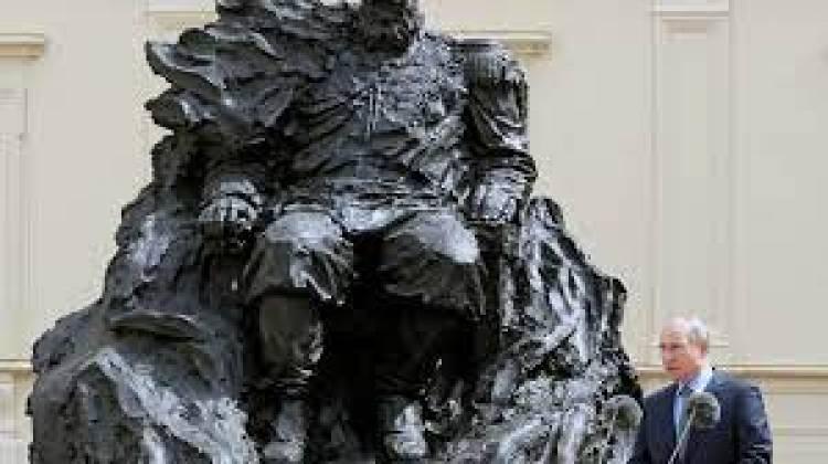 بوتين يشارك في افتتاح نصب تذكاري للإمبراطور الروسي ألكسندر الثالث