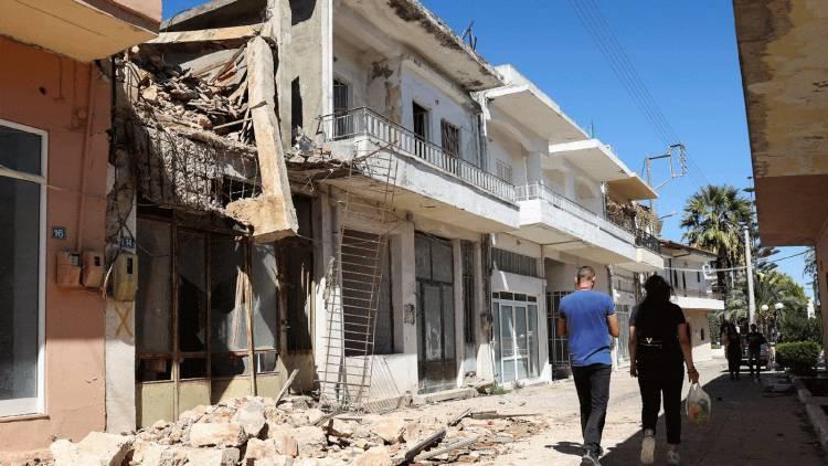 زلزال بقوة 6.3 درجات قبالة سواحل جزيرة كريت