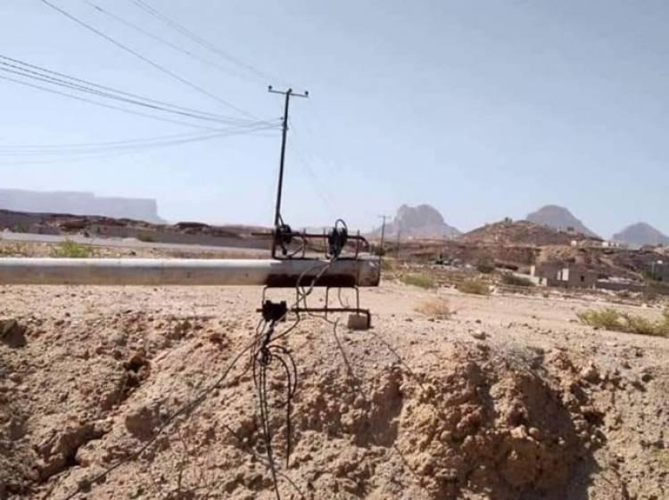 أعطال الكهرباء تهدد السكان في ميفعة بشبوة
